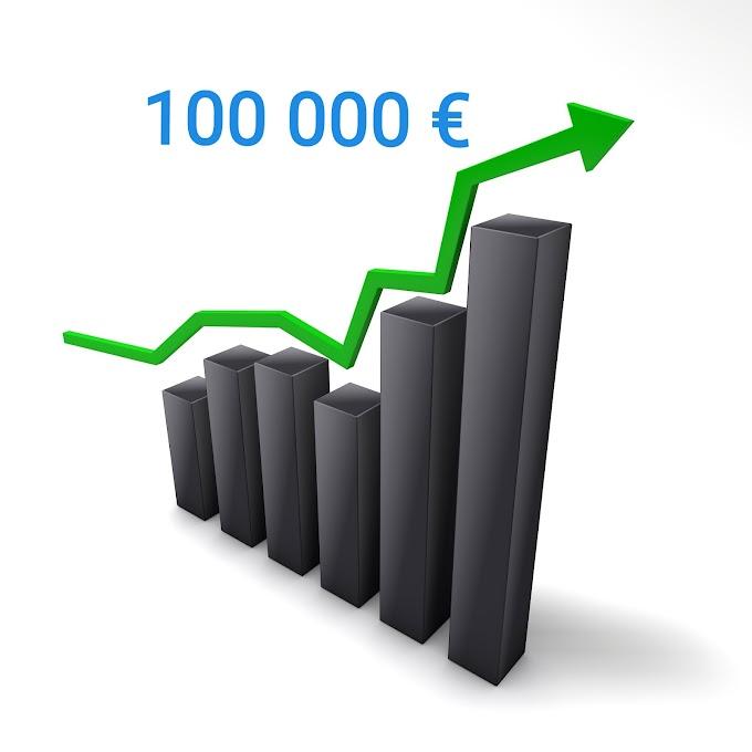 Salkun arvo ylitti 100000 euroa!
