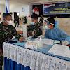 Serbuan Vaksinasi Covid-19 Bagi Seluruh Personel Lantamal VI Makassar