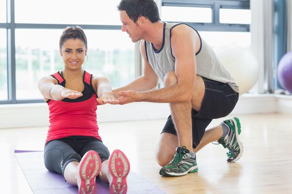 Latihan Gym dengan Fisioterapi
