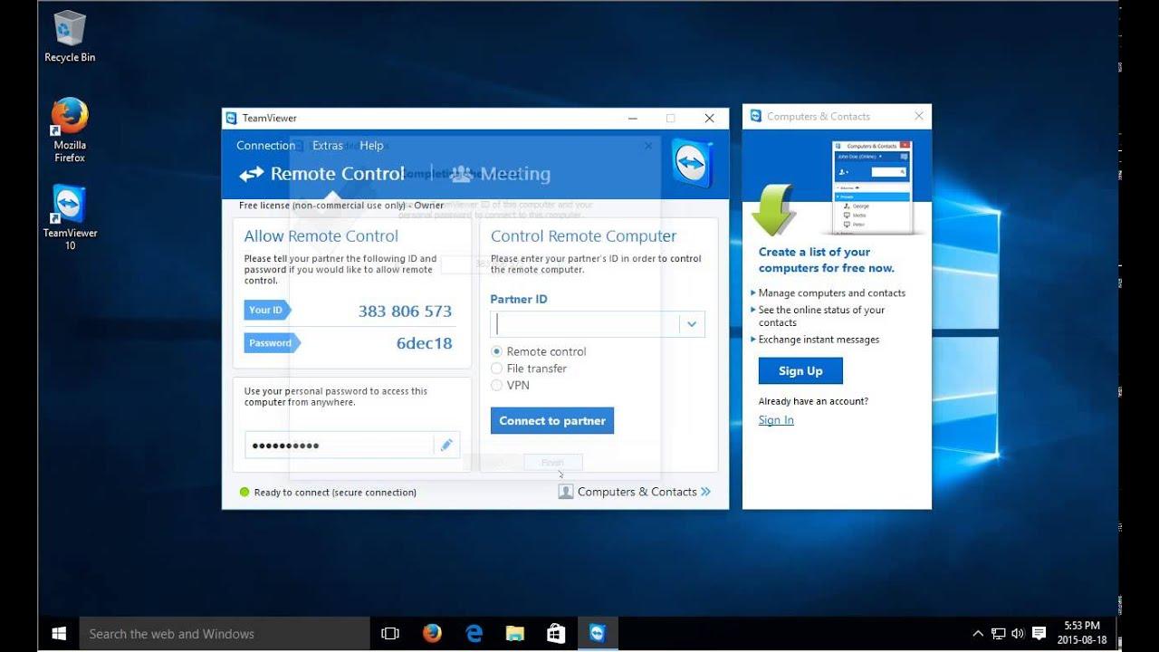 Teamviewer 10 Free Download Full Version For Windows - Get