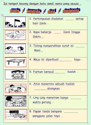 Kata Sendi Nama dan Contoh-contoh Ayat