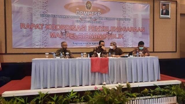 Permudah Akses Masyarakat, Pemkot Yogya Targetkan Soft Launching Mal Pelayanan Publik 7 Juni 2021