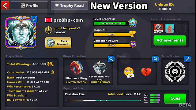 Cue Ball Trajectory 8 ball pool Daily Missions 5.3.0 Apk