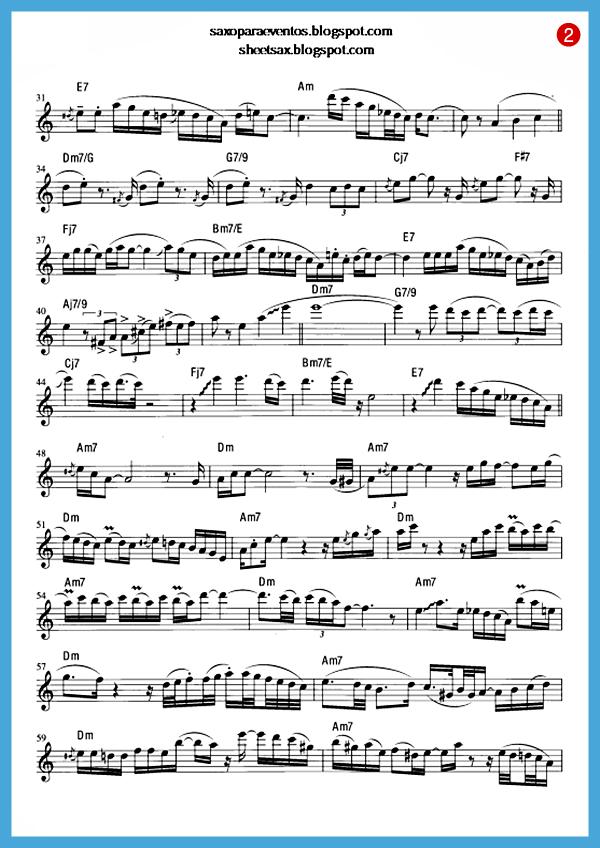 Free Europa Alto Sax Sheet Music