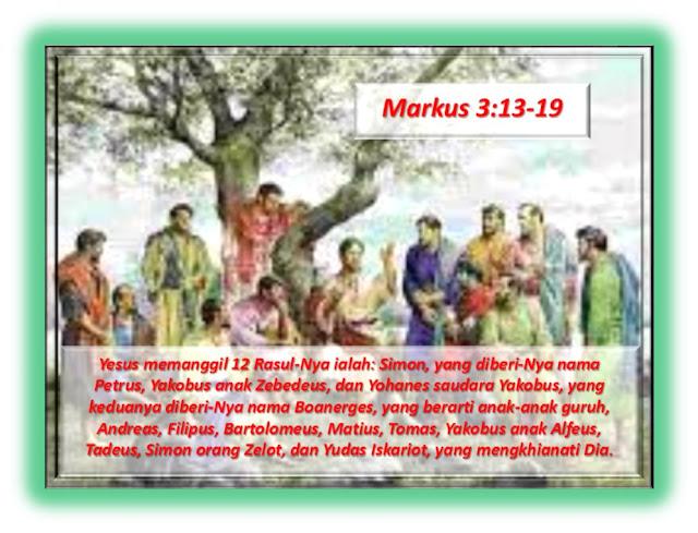 Markus 3:13-19