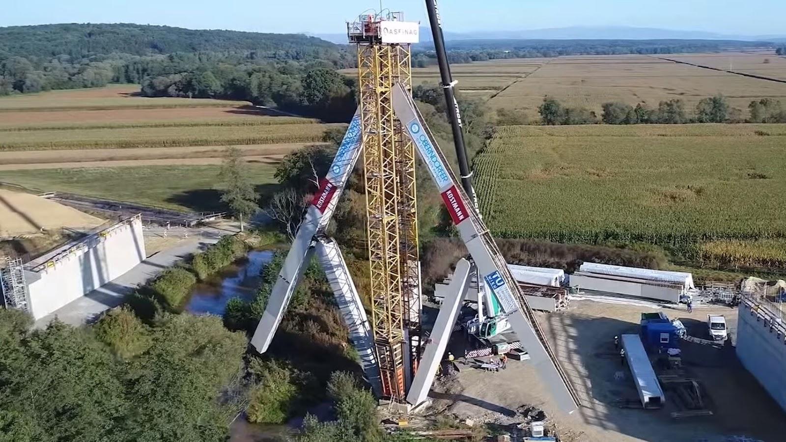 Revolución tecnológica en la construcción, de puentes paraguas a hormigón plegable