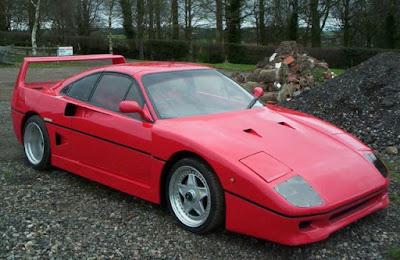 Réplica cutre Ferrari F40