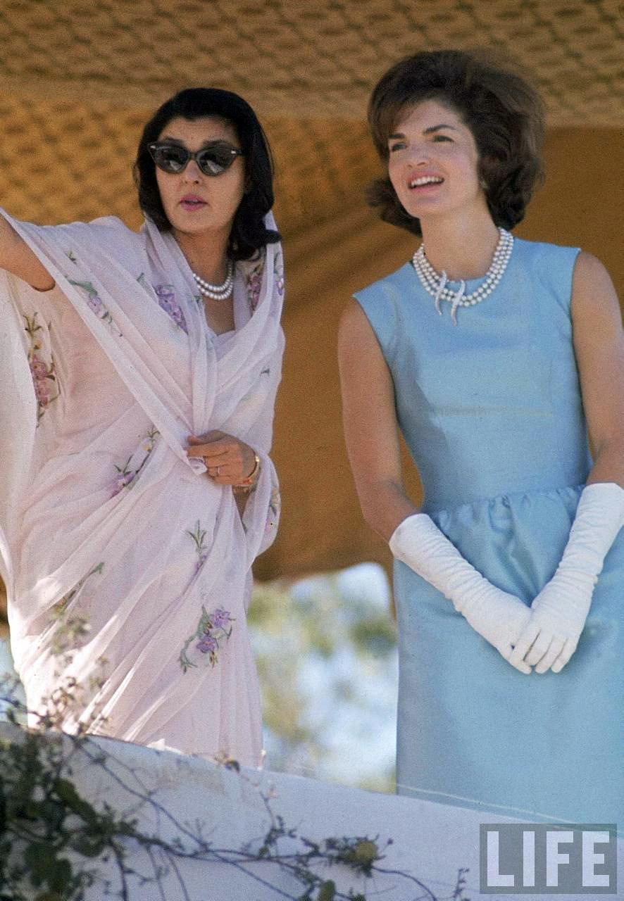 1925 Rolls Royce Phantom >> Jackie Kennedy visits India, 1962 ~ vintage everyday