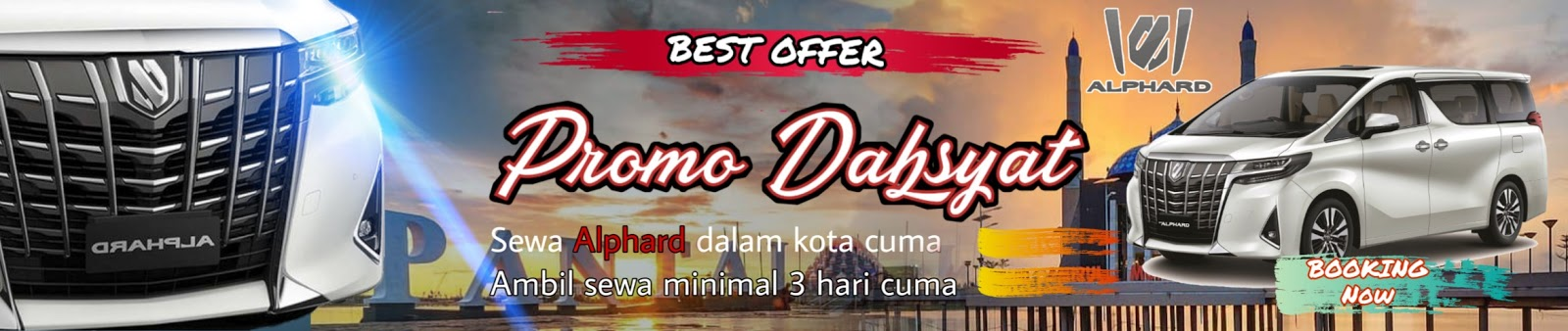 promo rental mobil alphard makassar