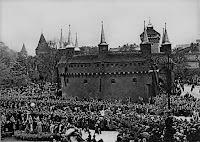 Pogrzeb Józefa Piłsudskiego (Barbakan) 1935