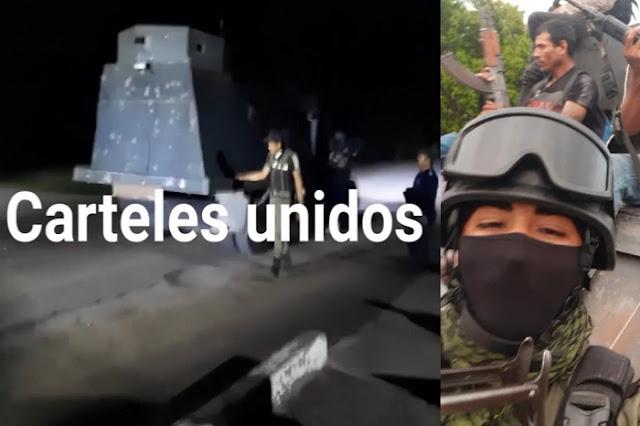 """Reportan Topon  entre El CJNG vs Cárteles Unidos en Michoacán y dicen """"El Popo"""" sobrino de El Abuelo solicito helicóptero a mando de Seguridad"""