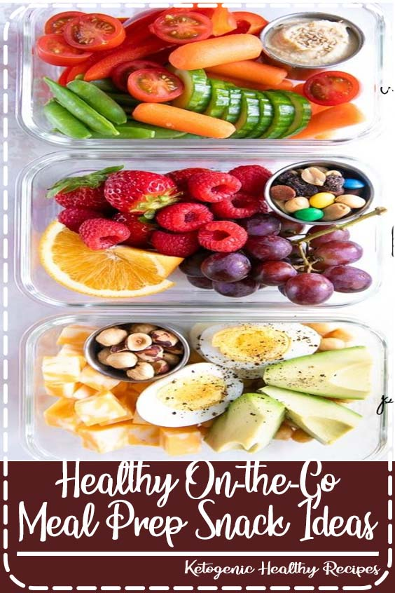 Eating healthy on-the-go has never been easier with these delicious, colorful, and nutritious Meal Prep Snack Ideas.