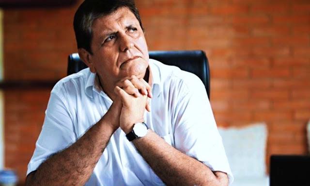 Expresidente Alan García