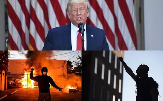 """""""Trump se refugia en un búnker"""", The New York Times revela lo que hizo el presidente cuando las protestas llegaron a su residencia"""