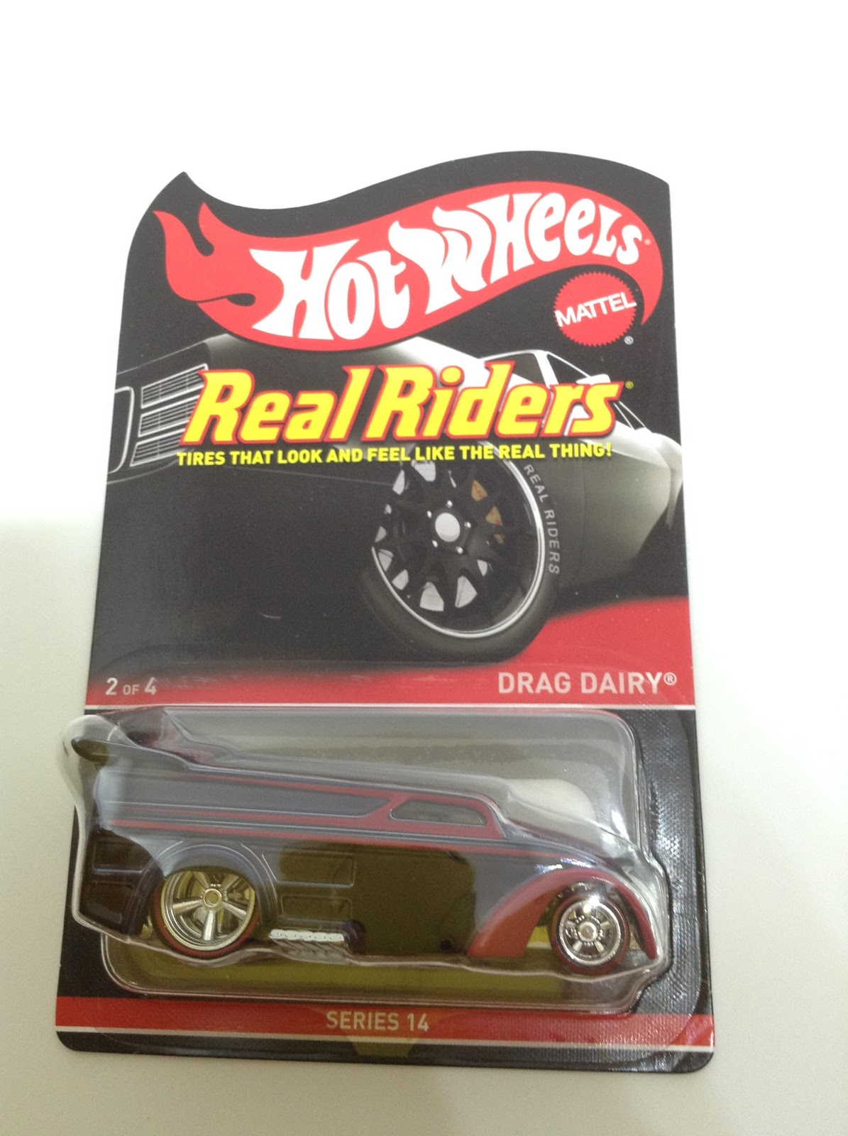 Real Riders RLC Drag Dairy 2017 Hot Wheels Series 14