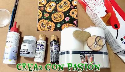 3-ideas-diy-para-halloween-con-decoupage-crea2-con-pasion, materiales
