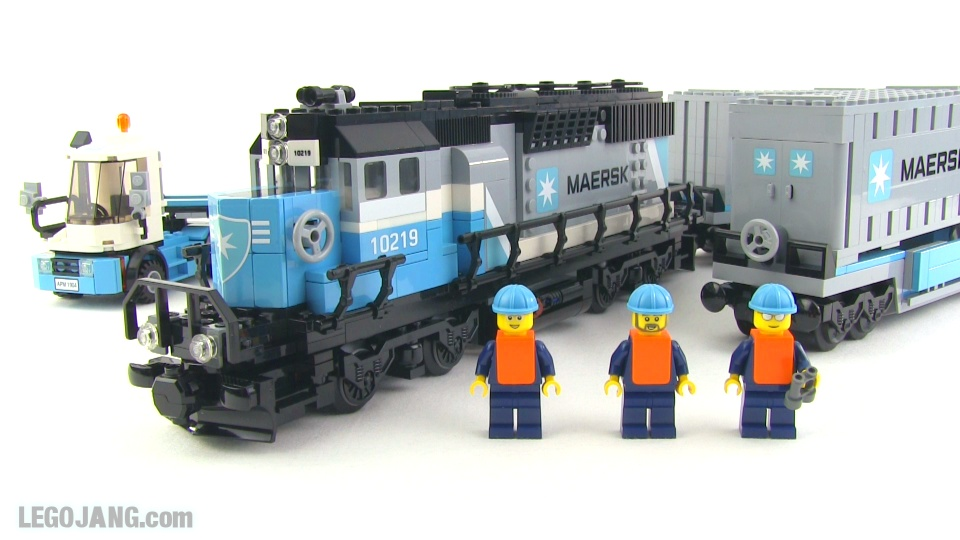 Lego Maersk Train 10219 Review