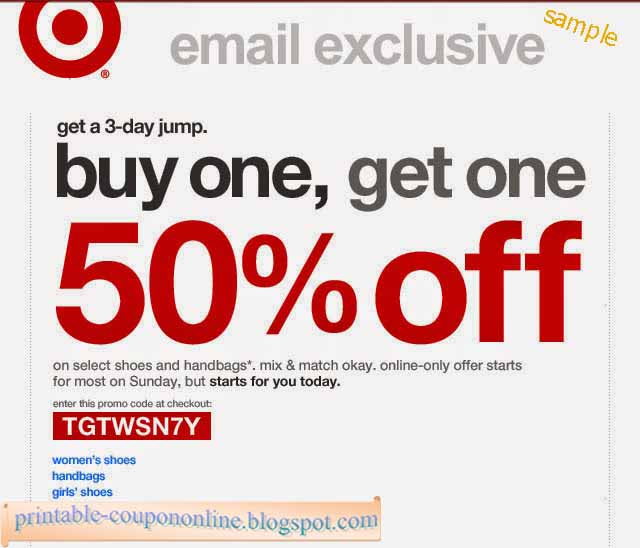 Target coupon code in store