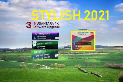3 Software Upgrade Nusantara HD 4K - New Stylish 2021 🤞