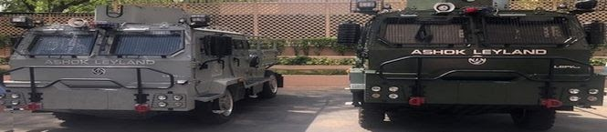 IAF Inducts Specialist Vehicles For Airbase Security Against Terror Attacks