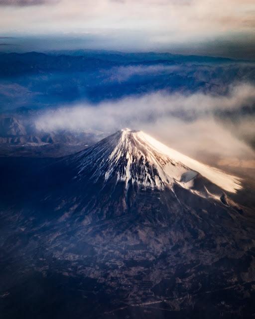 富士山,世界遺産,山,朝陽