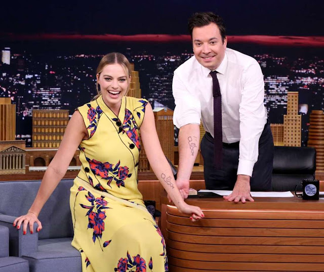 Margot Robbie – 'The Tonight Show with Jimmy Fallon' in New York