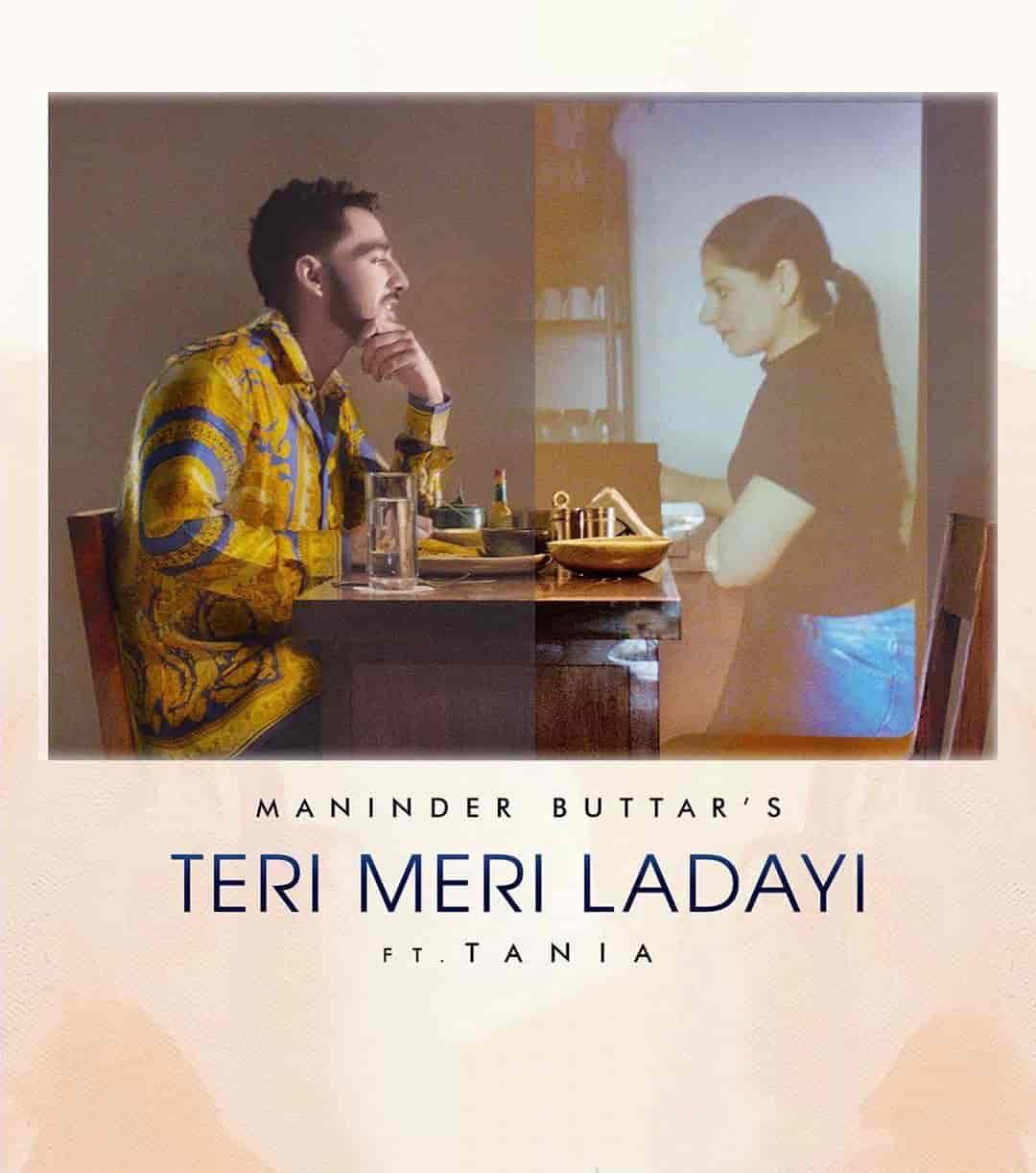 Teri Meri Ladayi Punjabi Song Image By Maninder Buttar from album Jugni