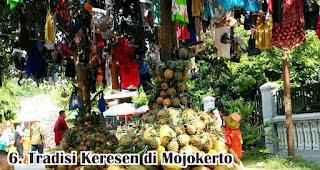 Tradisi Keresen di Mojokerto merupakan salah satu tradisi unik di Indonesia yang dilakukan untuk menyambut maulid nabi