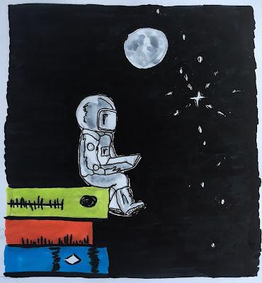 #Buchrakete_01 - Bücher und unendliche Weiten