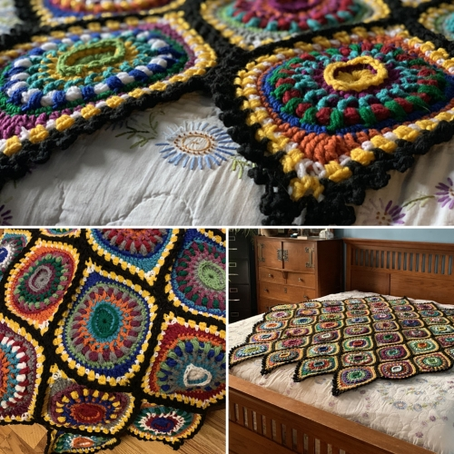 Boho Ornament Afghan - Free Pattern