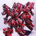 Custom Build: MG 1/100 MSN-04 Sazabi Ver. Ka Open Hatch Presentation