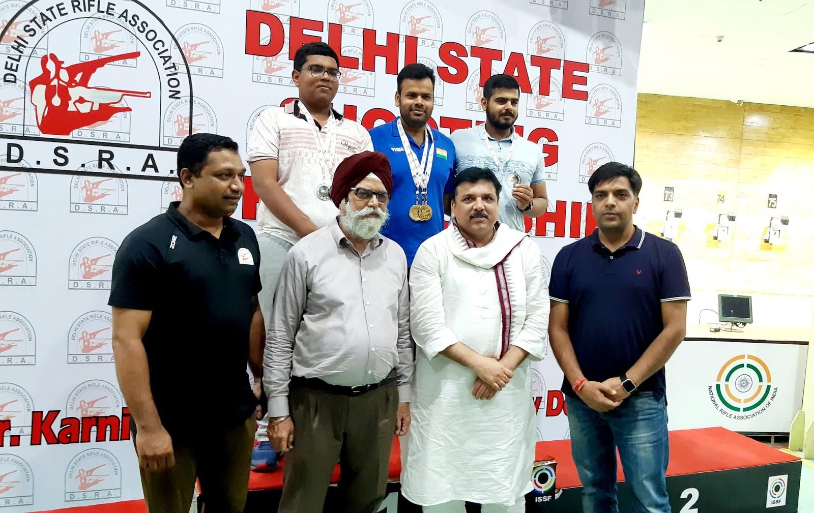 दिल्ली पुलिस के स्पेशल सेल के मशहूर डीसीपी सजीव कुमार यादव ने गोल्ड जीता