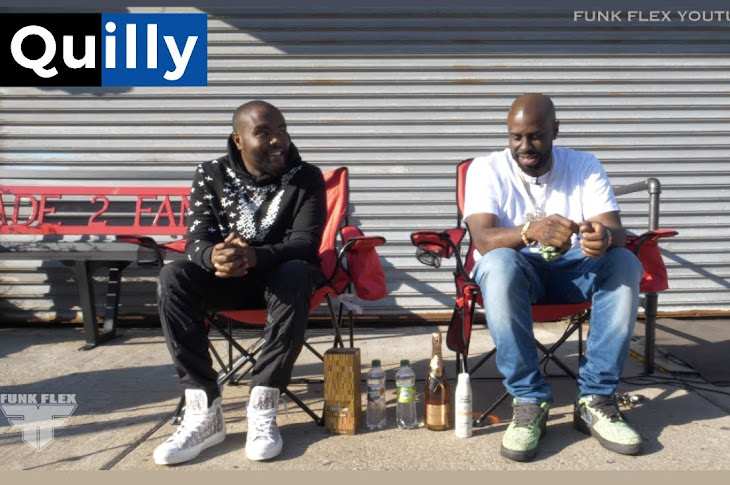 Quilly Appears On Funk Flex Block Work Series
