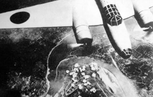 Peswat Perang Jepun Sebarkan Wabak