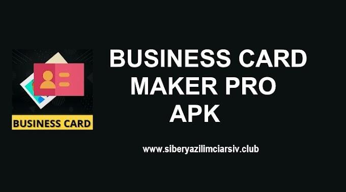 Business Card Maker v0.25 Pro APK