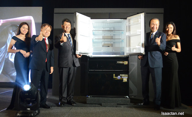 The Launch Of Mitsubishi Electric's LX Grande Refrigerator