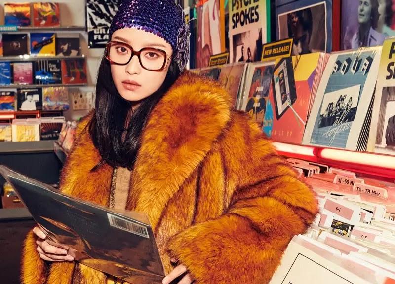 NiNi stars in Gucci eyewear spring-summer 2020 campaign