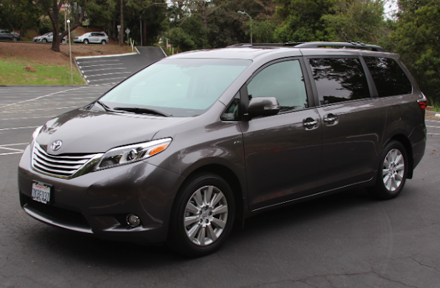 2016 Toyota Sienna AWD Car And Driver Review