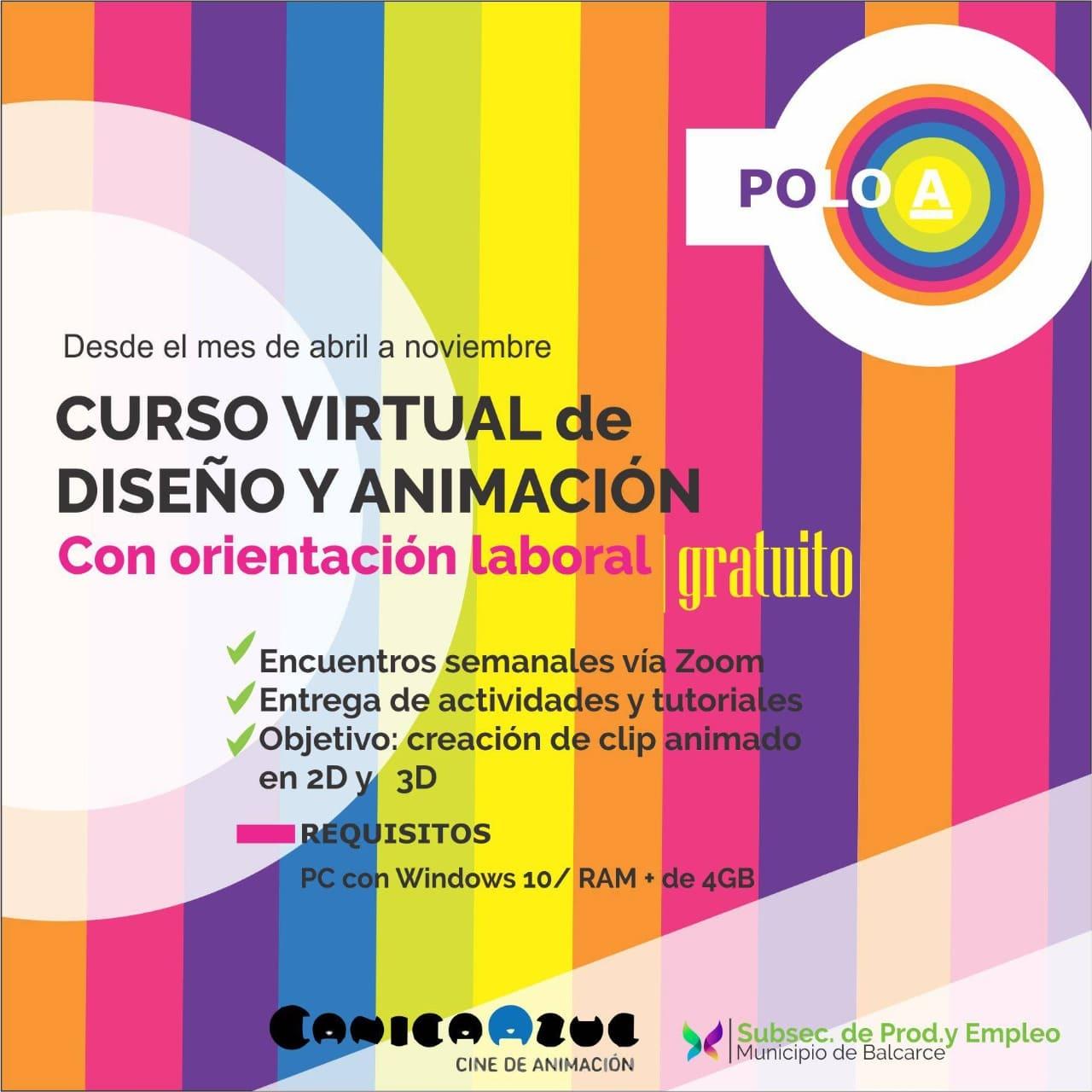 Curso virtual animación