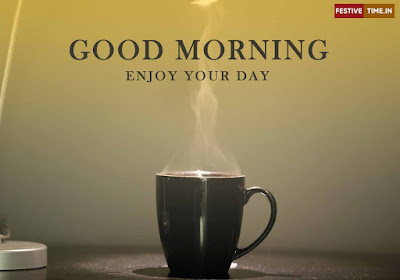 Good morning wishes with coffee images