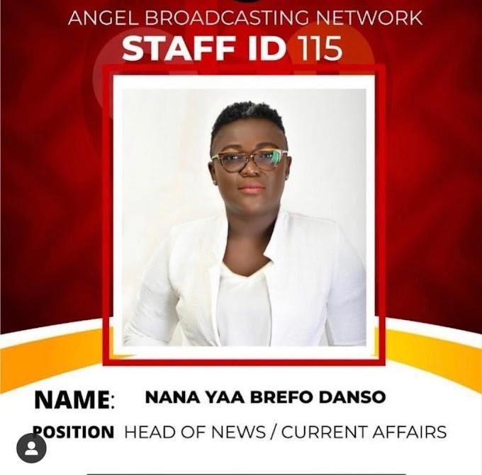 Nana Yaa Brefo Joins Angel FM In Accra