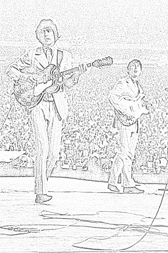 Coloring Pages: Beatles Coloring Pages Free and Downloadable