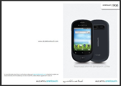 Alcatel OT-908 manual