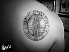 Tattoos By Cazm1 St Christopher