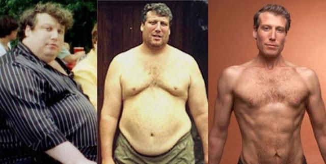 Un hombre decidió bajar 99 kilos de peso sólo nutriéndose bien y escuchando su cuerpo