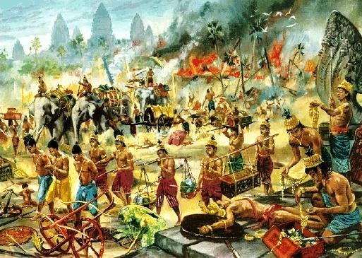 Siamese Invasion of the  Khmer Kingdom