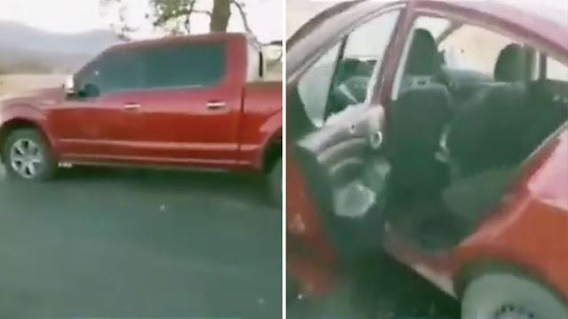 Video: Un sicario abatido, casquillos percutidos y terror: las imágenes del enfrentamiento entre CJNG y Cárteles Unidos en Michoacán