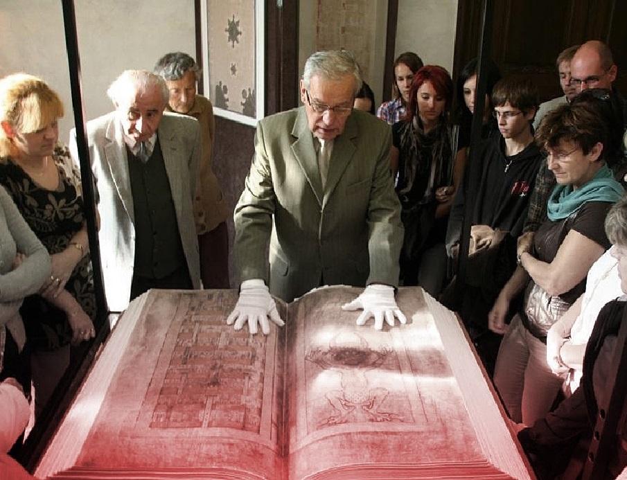 Codex Gigas, Bible, Devil, Satan, Book