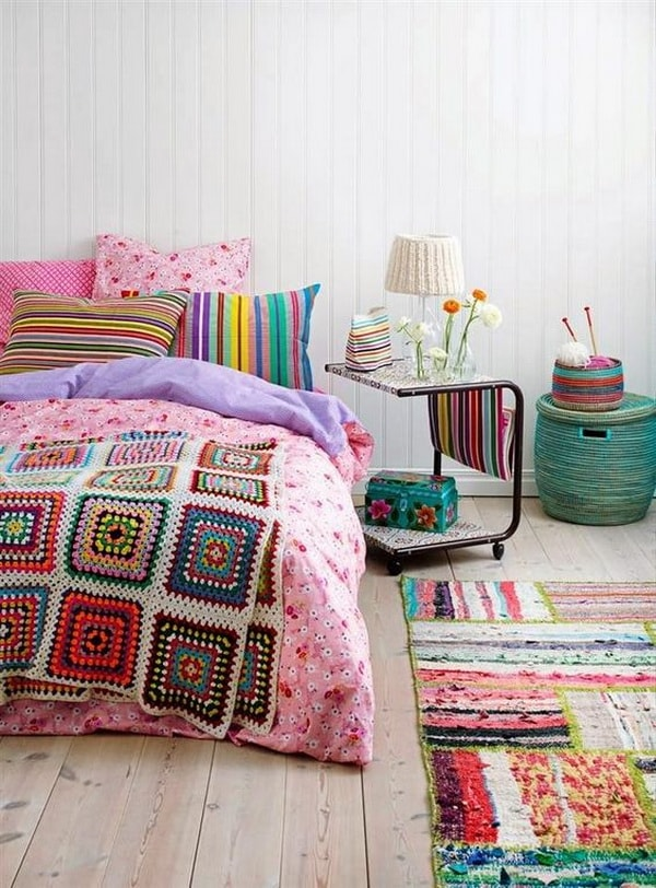 Bedrooms Decoration With Lots of Colors Combination - Best Colors Combination 9