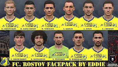 PES 2017 Facepack FC Rostov by Eddie Facemaker